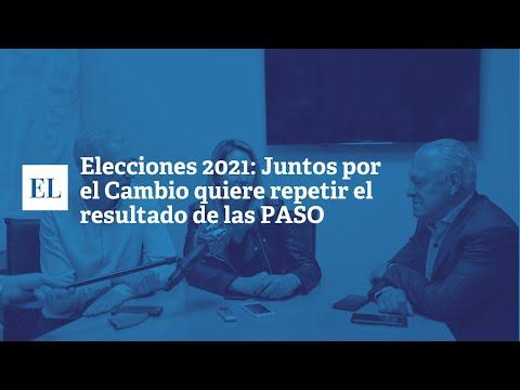 ELECCIONES 2021: JUNTOS POR EL CAMNBIO QUIERE REPETIR EL RESULTADO DE LAS PASO