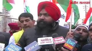 video:हरियाणा के इंद्री में निकाला गया कैंडल मार्च