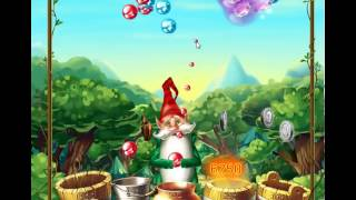 guide, tips, and cheats from Bubble and the Seven Dwarfs Level 9 in video