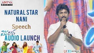 Natural Star Nani Speech @ Devadas Audio Launch || Akkineni Nagarjuna,Rashmika, Aakanksha Singh - ADITYAMUSIC