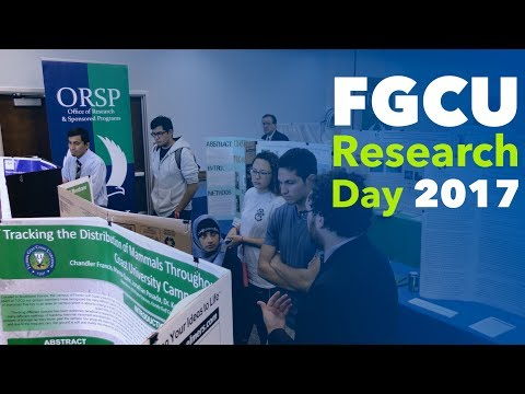 FGCU Research Day 2017