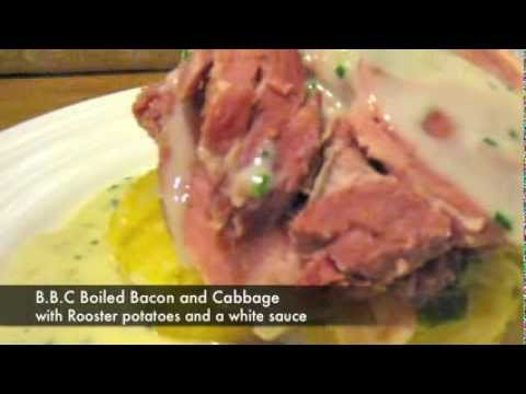 Irish Boiled Bacon and Cabbage. B.B.C
