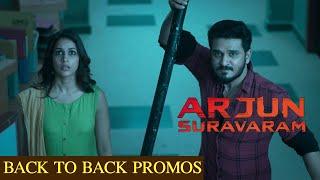 Arjun Suravaram Back To Back Promos | Nikhil Siddhartha, Lavanya Tripati | TFPC - TFPC