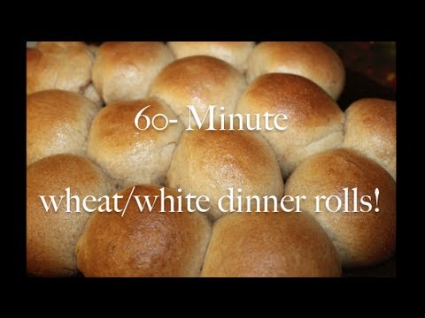 60- Minute Homemade Dinner Rolls
