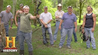 Swamp People: Archery, Round 1 - Jay Paul vs. Holden (Season 9) | History - HISTORYCHANNEL