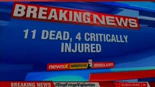 Maharashtra: Collision between 2 vehicles; 11 dead, 2 critically injured - NEWSXLIVE