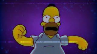 Simpsonswave, material dorado, único en su clase