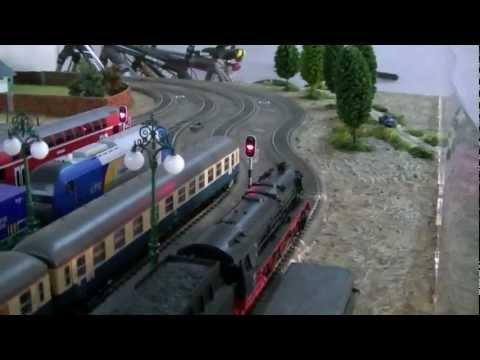 Mi maqueta de trenes Ho de Marklin