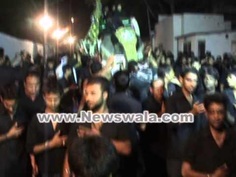 Moharram 2012 - High Security arrangements at Chaderghat for Bibi ka Alam