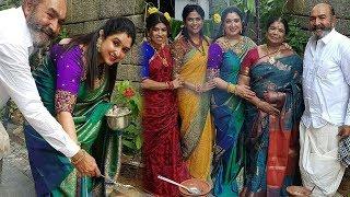 Actor Vijayakumar Sankranthi Celebration With Family | Arun Vijay, Preetha , Aarthi Mohan - RAJSHRITELUGU