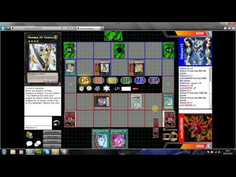 Yugioh - Rabbit VS Evolsaur Game 1 October 2012