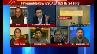 Nation at 9: #PreambleRow- Government ad drops 'secular' from preamble - NEWSXLIVE