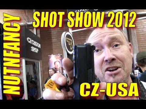 NUTNFANCY SHOT 2012: CZ-USA Custom Pistols!