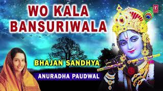 Wo Kala Bansuriwala I Krishna Bhajan I ANURADHA PAUDWAL I Full Audio Song I Bhajans Sandhya Vol.1 - TSERIESBHAKTI