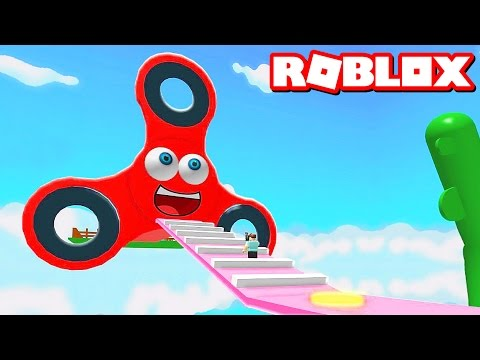 ESCAPE THE FIDGET SPINNER OBBY IN ROBLOX