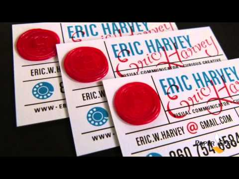 Paper Inspiration #157: Eric Harvey Business Cards