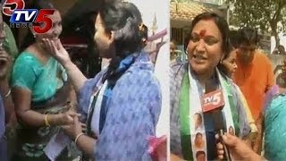 YSRCP Reddy Shanthi Door to Door Campaign - TV5NEWSCHANNEL