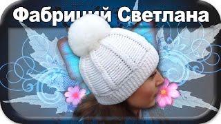 ?Теплая зимняя шапка, вязание крючком для начинающих, crochet.
