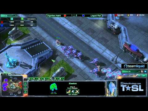 Game 2 - Dignitas.NaNiwa vs Liquid`Ret - TSL3 Ro32 Match 12