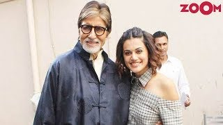 Amitabh Bachchan And Taapsee Pannu Come Together Once Again For 'Badla' - ZOOMDEKHO