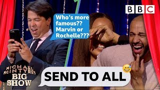 Send To All with Marvin and Rochelle Humes - Michael McIntyre's Big Show: Episode 4 - BBC One - BBC