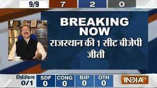 Rashid Alvi's reaction over BJP's performance in bypolls - INDIATV