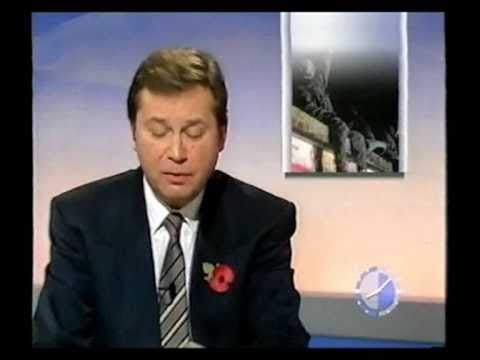 The Fall of the Berlin Wall (PART 2) - East Germany opens the gates (BBC News 9th November 1989 )