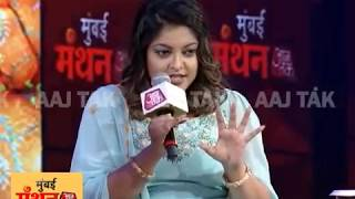 Don't Throw Your Prejudices At Other People: Tanushree Dutta Lashes Out At Audience Member - AAJTAKTV