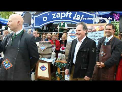 Oktoberfest 2012 in der Lindenstrae  - Festansage mit Bieranstich | Bad Fssing erleben