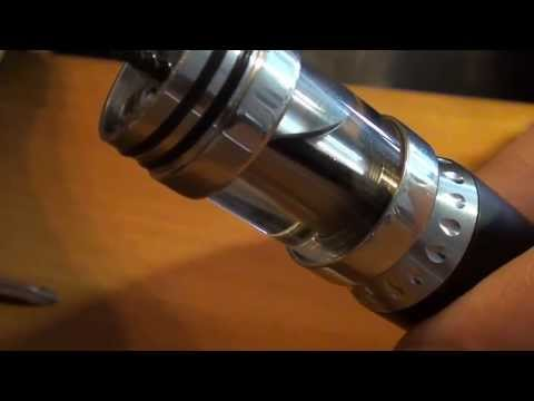 AGI atomizer, mesh setup and nemesis assembly