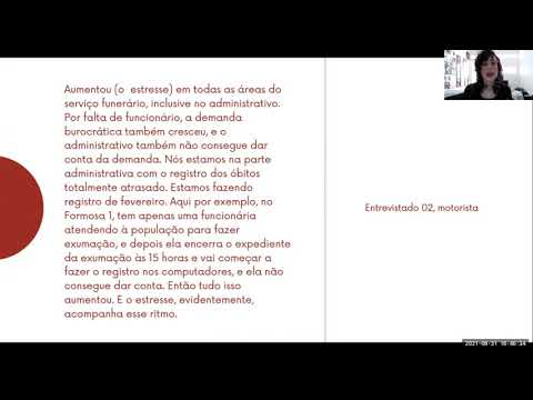 PESQUISA   Intensificação do trabalho e sofrimento no contexto Covid-19 (Trecho 2)