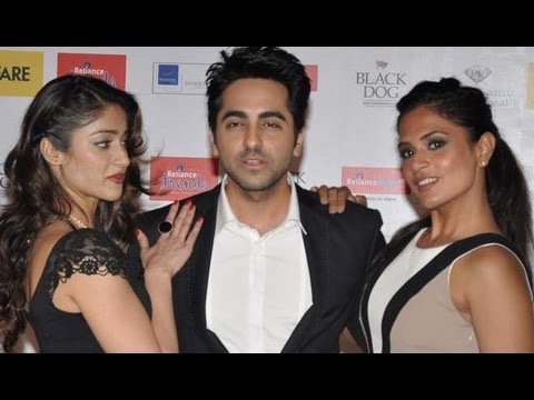Ayushmann Khurrana, Sujoy Ghosh, Richa Chadda And Ileana D'Cruz At Filmfare Special Issue Launch