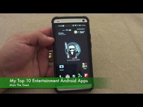 My Top 10 Entertainment Android Apps