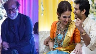 Superstar Rajinikanth Dance At Soundarya Rajinikanth Wedding   Marriage Video - RAJSHRITELUGU