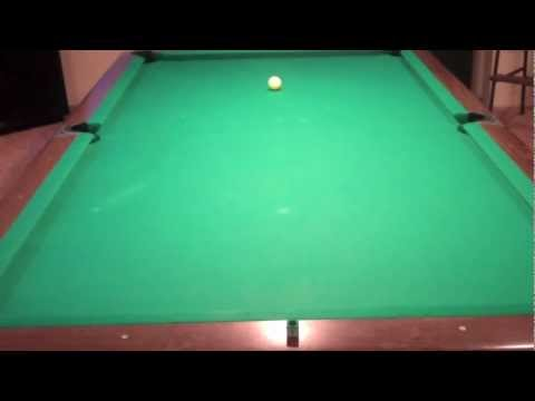 Billiard Lessons- Straight stroke?