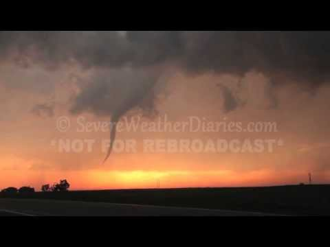 Storm Chase 2013 - May 18 - Chase Day 4: Tornadoes in Kansas