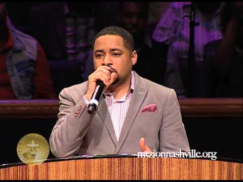 Smokie Norful Sings at Mt. Zion Nashville WOW Worship On Wednesdays April 10, 2013