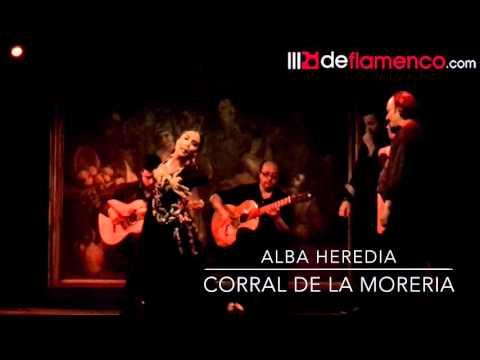 Alba Heredia en el Corral de la Moreria