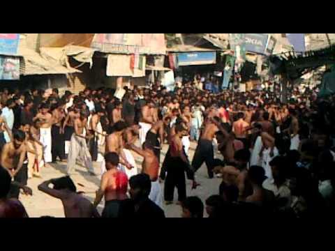 Zanjeer Matam 10th Muharam 1433 by Firog-e-Azadaari Mission Mehrabpur 2012-13