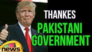 Trump Thanked Pakistani Government Over Rescue Operation For saving American Citizen | Mango News - MANGONEWS