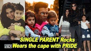SINGLE PARENT Rocks, wears the cape with PRIDE - IANSINDIA