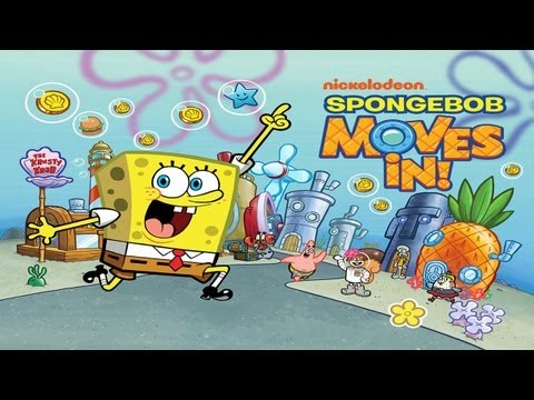 SpongeBob Moves In - Universal - HD Gameplay Trailer
