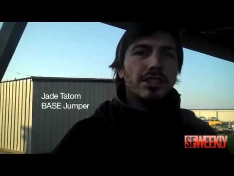 BASE Jumper Ammon McNeely Jumps Off Tower