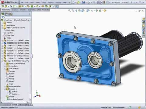 What's New In SolidWorks 2010 Day 2 - PART 2 - Assemblies 1/2