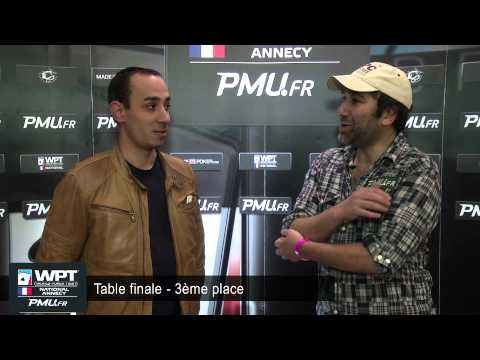 Interview de Miroslav Allilovic aprs son limination en 3e place