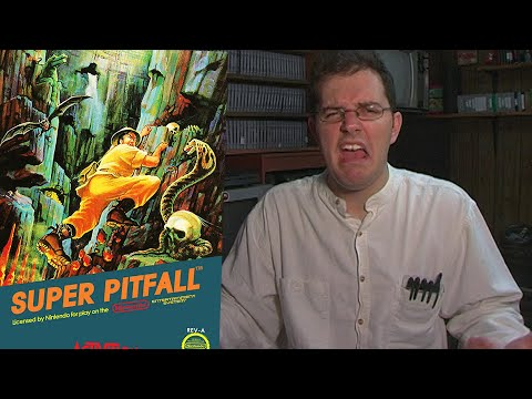 Super Pitfall - NES Review - Angry Video Game Nerd - Cinemassacre.com
