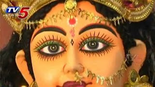 Artisans Busy with Goddess Durga Idols Preparation : TV5 News - TV5NEWSCHANNEL