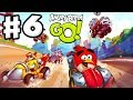 Angry Birds Go! Gameplay Walkthrough Part 6 - Crazy Wrecks! Rocky Road (iOS, Android)