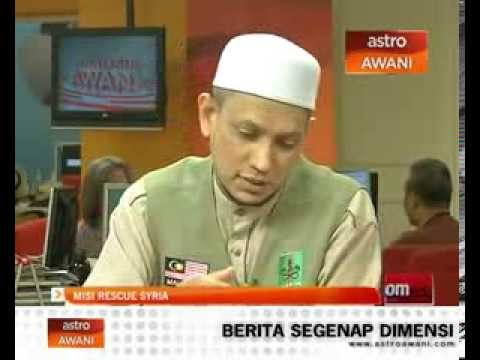 Analisis Astro Awani - RescueSyria (Winter Mission)