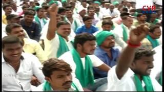పసుపు ,ఎర్ర జొన్న పంటకు మద్దతు ధర ఇవ్వాలి : Farmers Protest at Armoor in Nizamabad Dist| Raithe Raju - CVRNEWSOFFICIAL